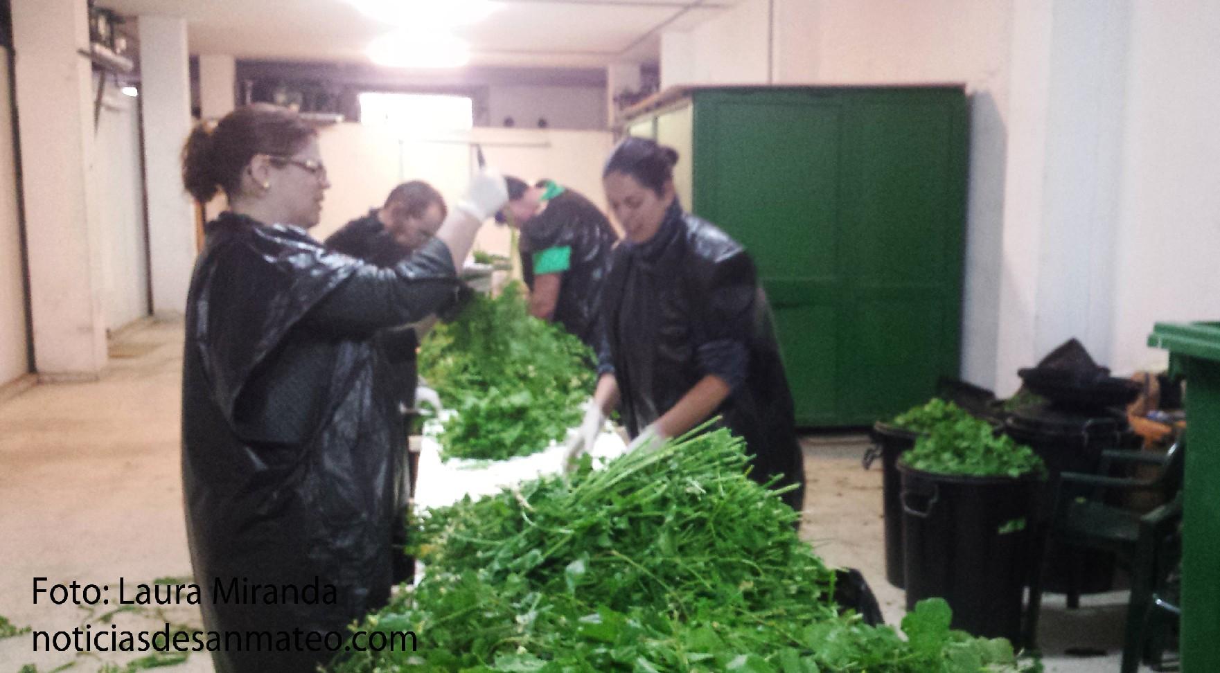 jaramagos preparando potaje popular dia 19 marzo Foto Laura Miranda