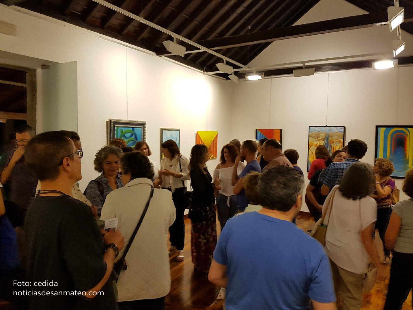 muestra Soledad Amador Noticias de San Mateo Foto Laura Miranda