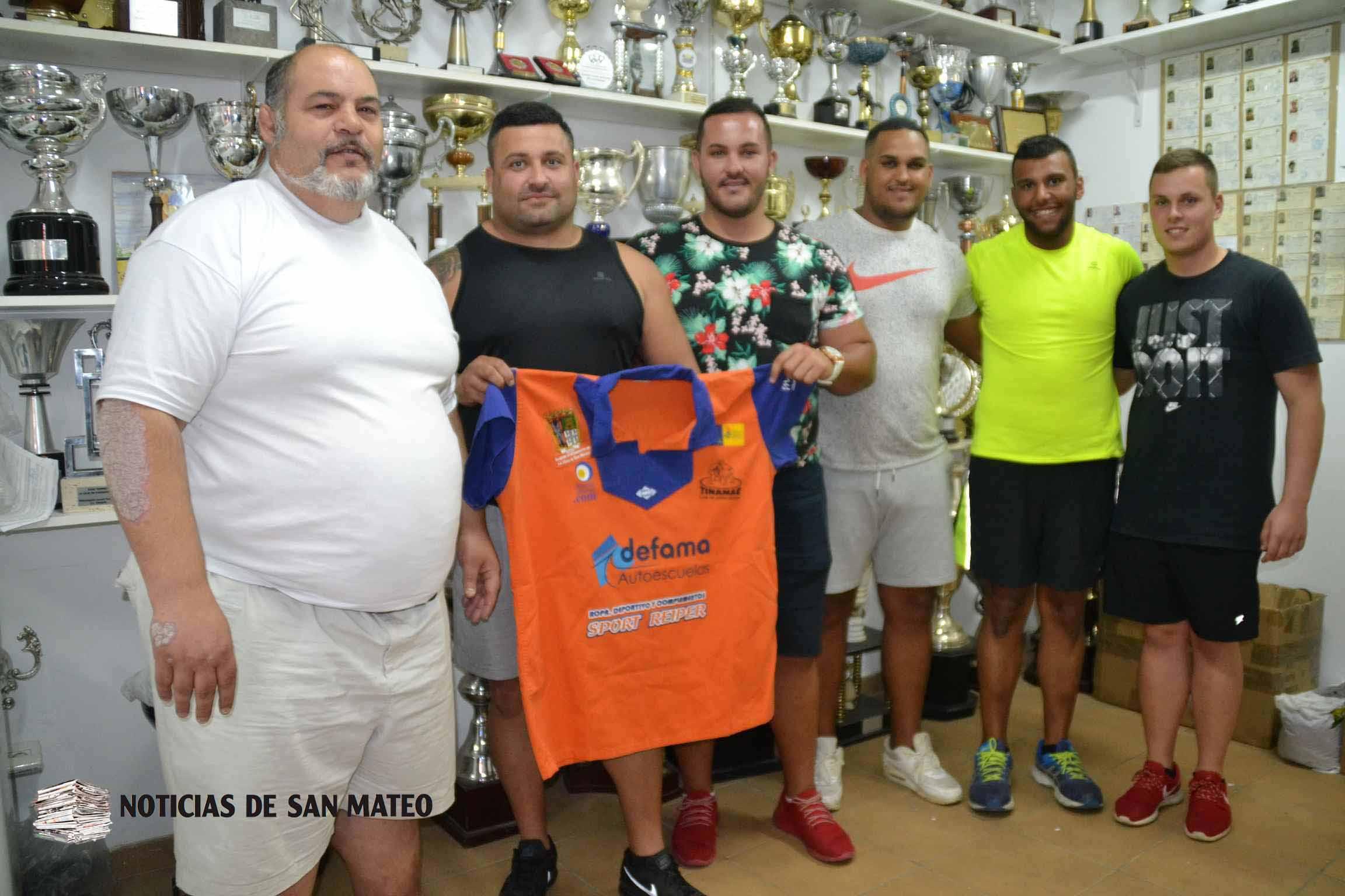 renovaciones y fichajes club de lucha tinamar Noticias de San Mateo Laura Miranda