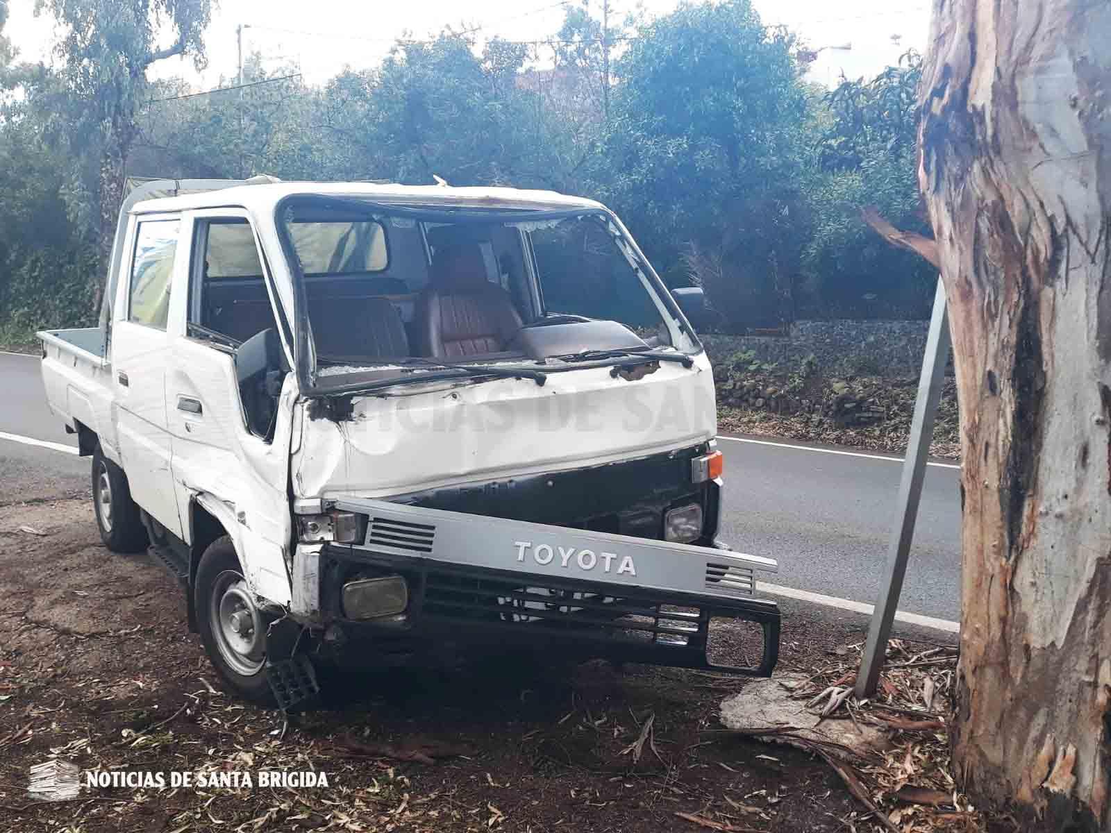 vehiculo accidente recta el paraiso 2 noviembre 2018