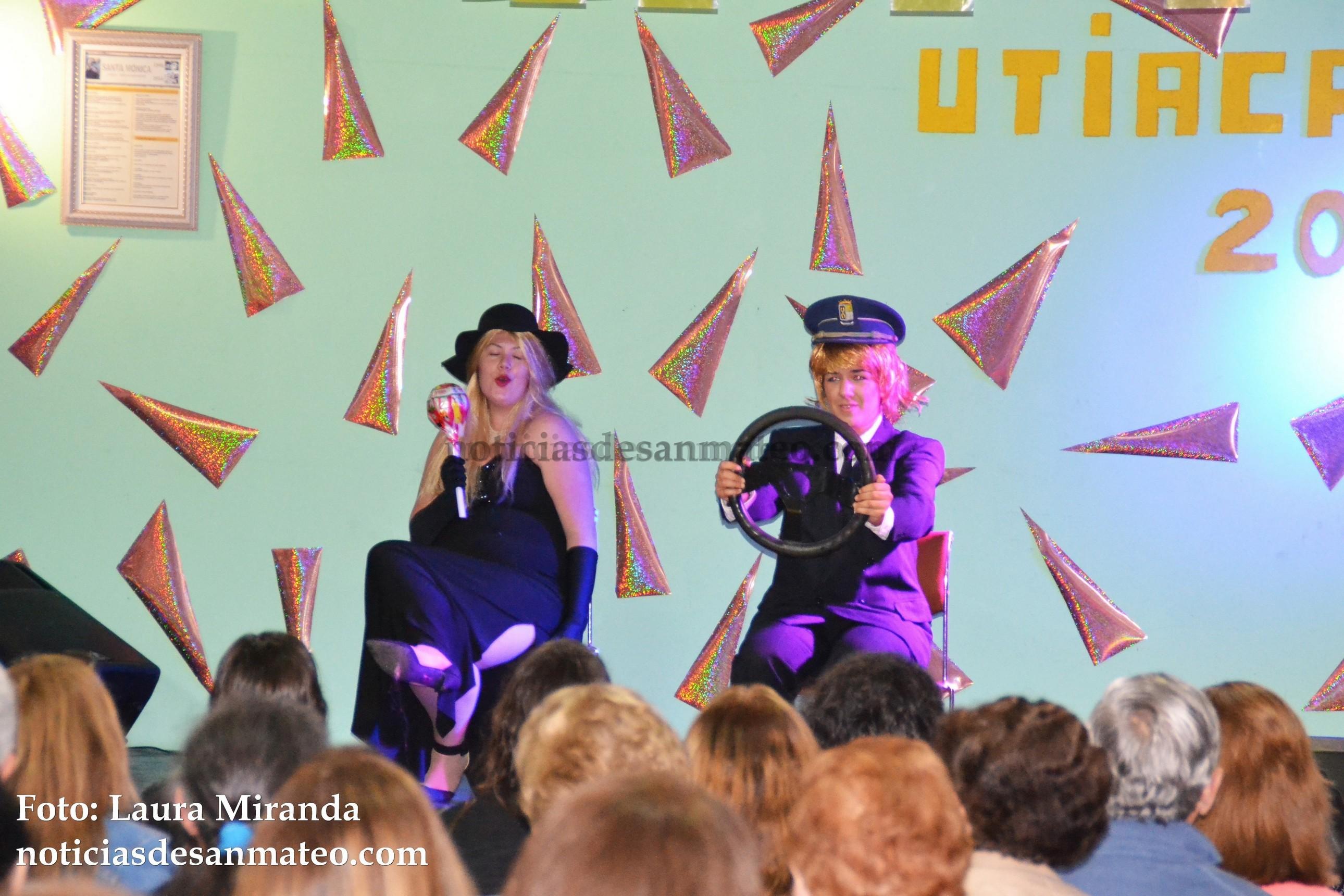 Pregon y Gala artistica Fiestas de Utiaca 2016 Foto Noticias de San Mateo Laura Miranda 4