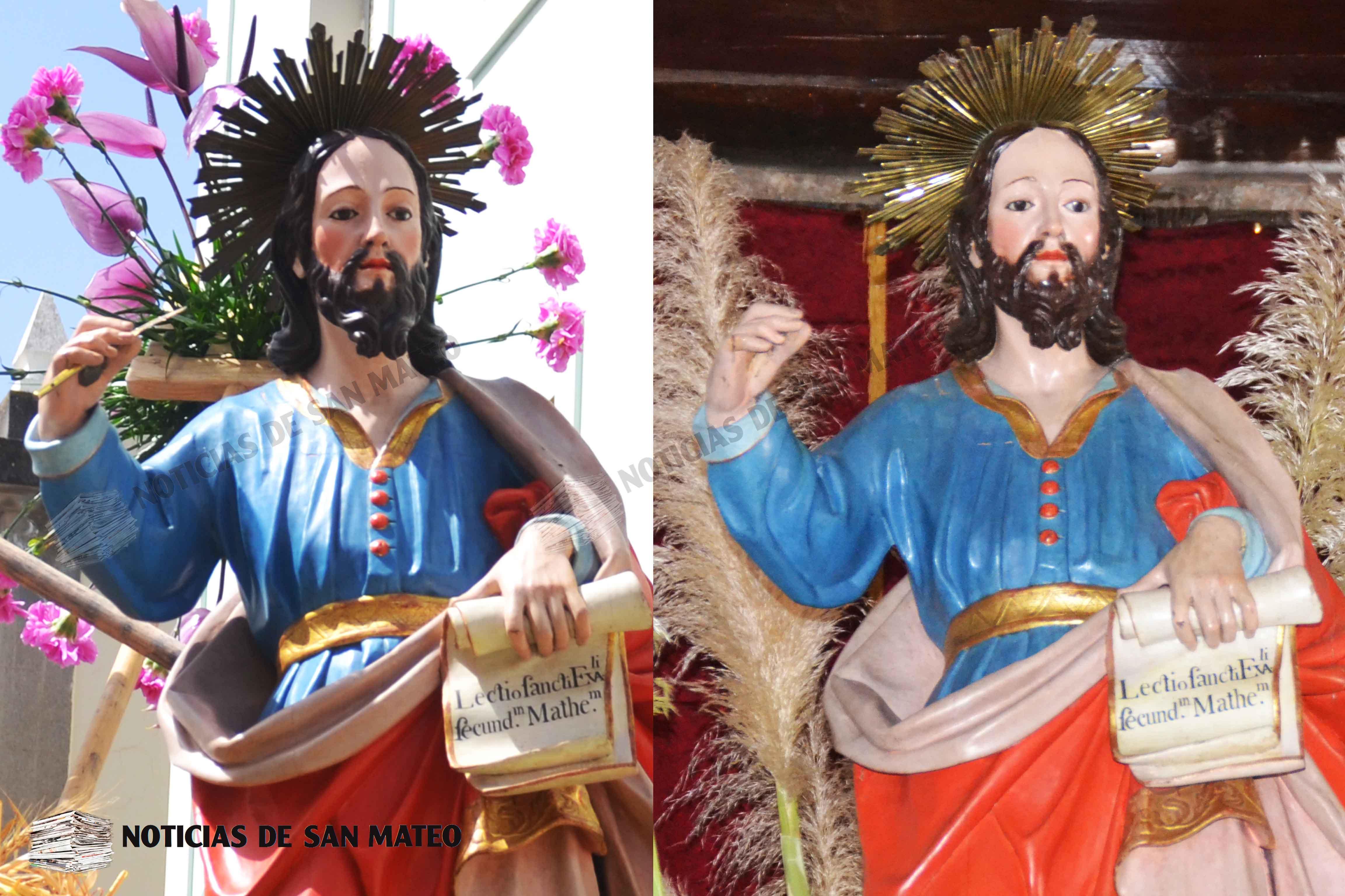 San Mateo antes y ahora