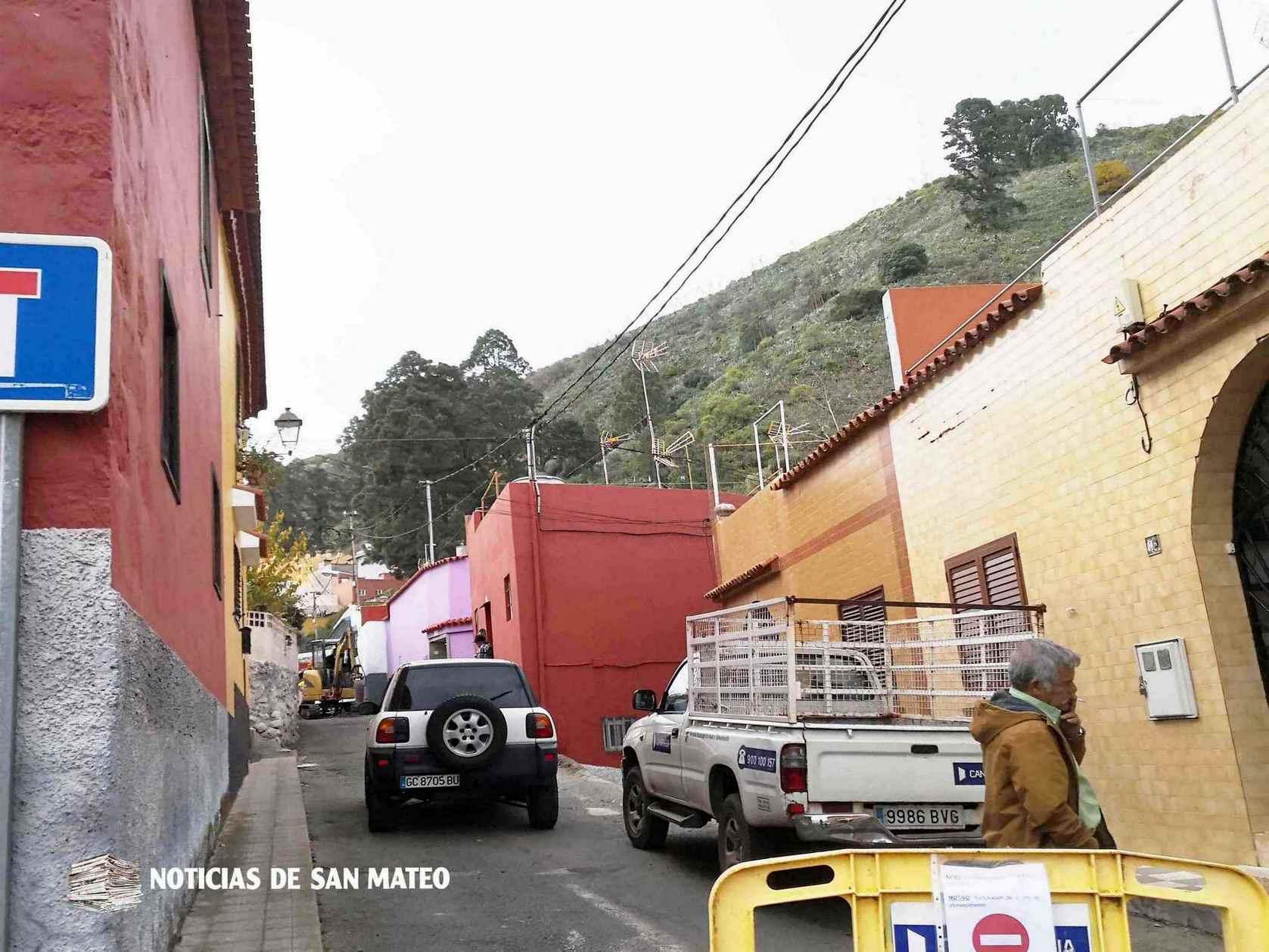 calle lourdes canaragua pre asfaltado san mateo 8 de enero de 2019