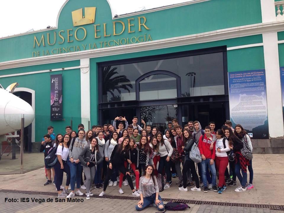 Alumnos San Mateo en Museo Elder Mayo 2016