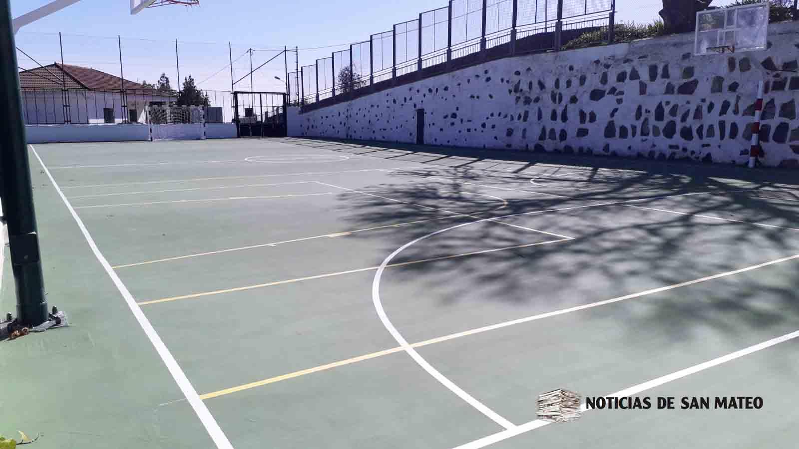 Cancha de Ariñez fin obras enero 2019