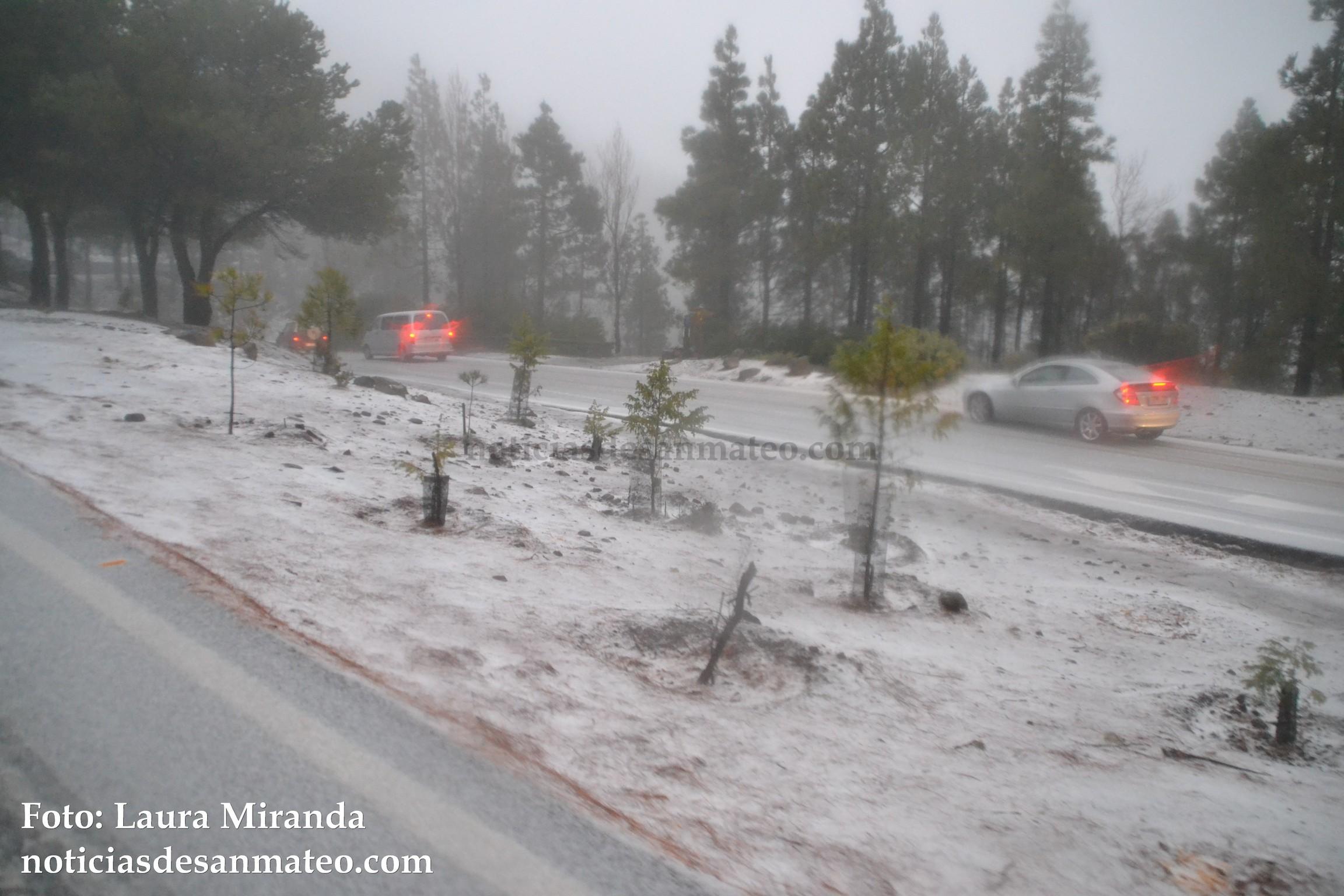 Carretera nevada Cumbre 19 de febrero de 2016 Foto Laura Miranda Noticias de San Mateo