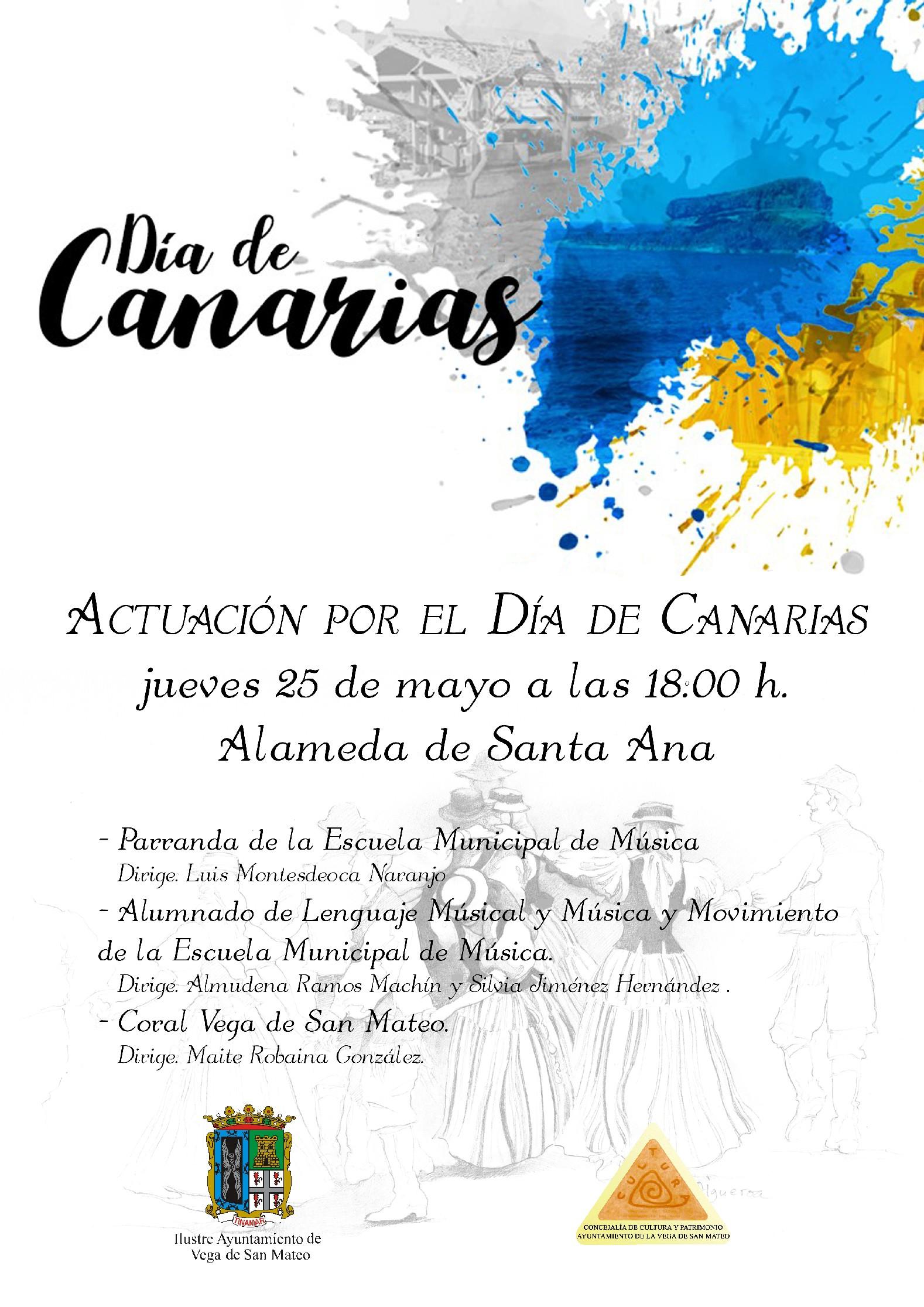 Cartel Concierto Dia CanariasCARTEL DIA CANARIAS 20171