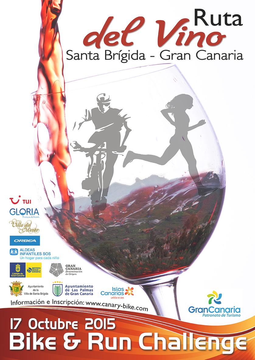 Cartel ruta del vino 2015