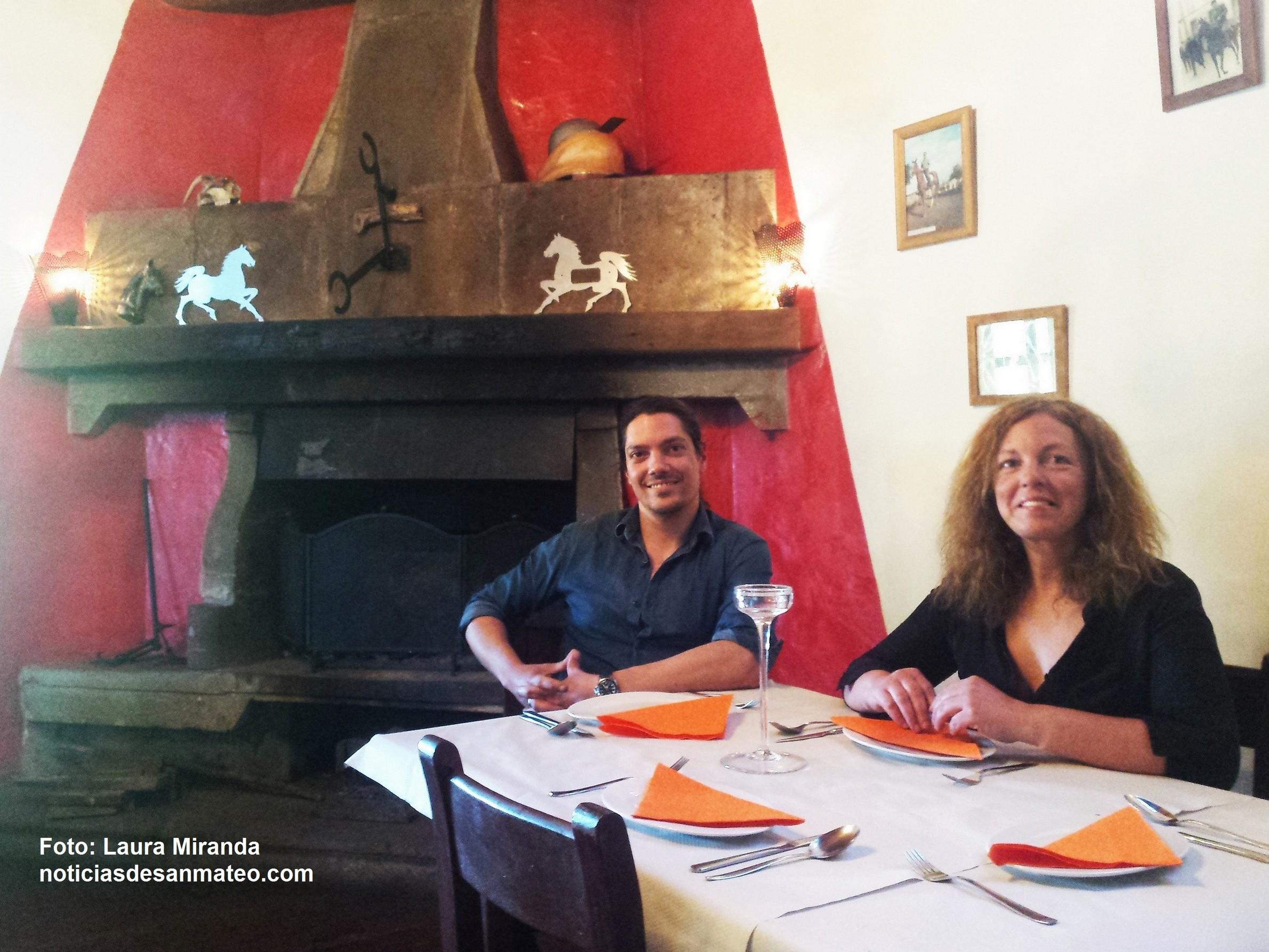 Coromoto y Roberto Valle Caballo Viejo Foto Laura Miranda Noticias de San Mateo