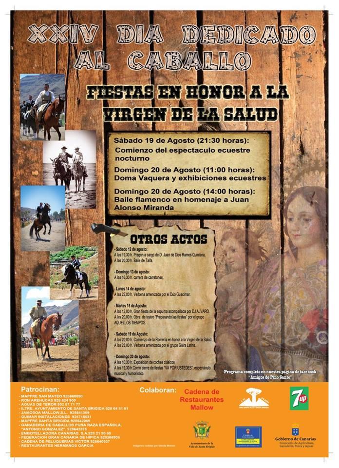 Dia dedicado al caballo Pino Santo Alto 2017