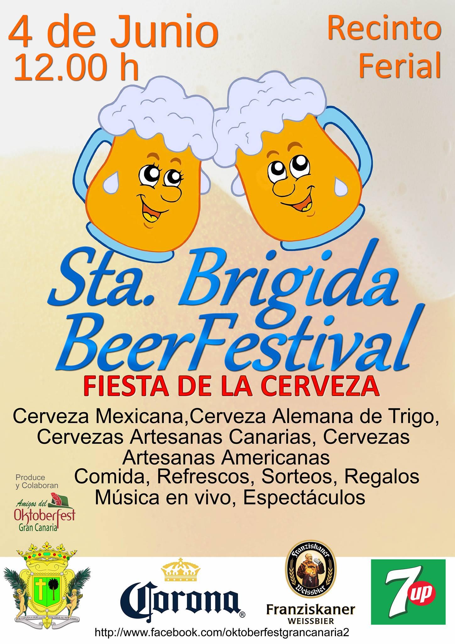 Festival de la cerveza santa brigida 2016