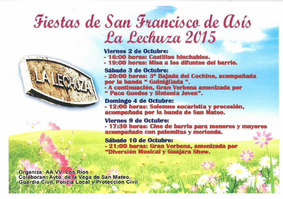 Fiestas Lechuza 2015
