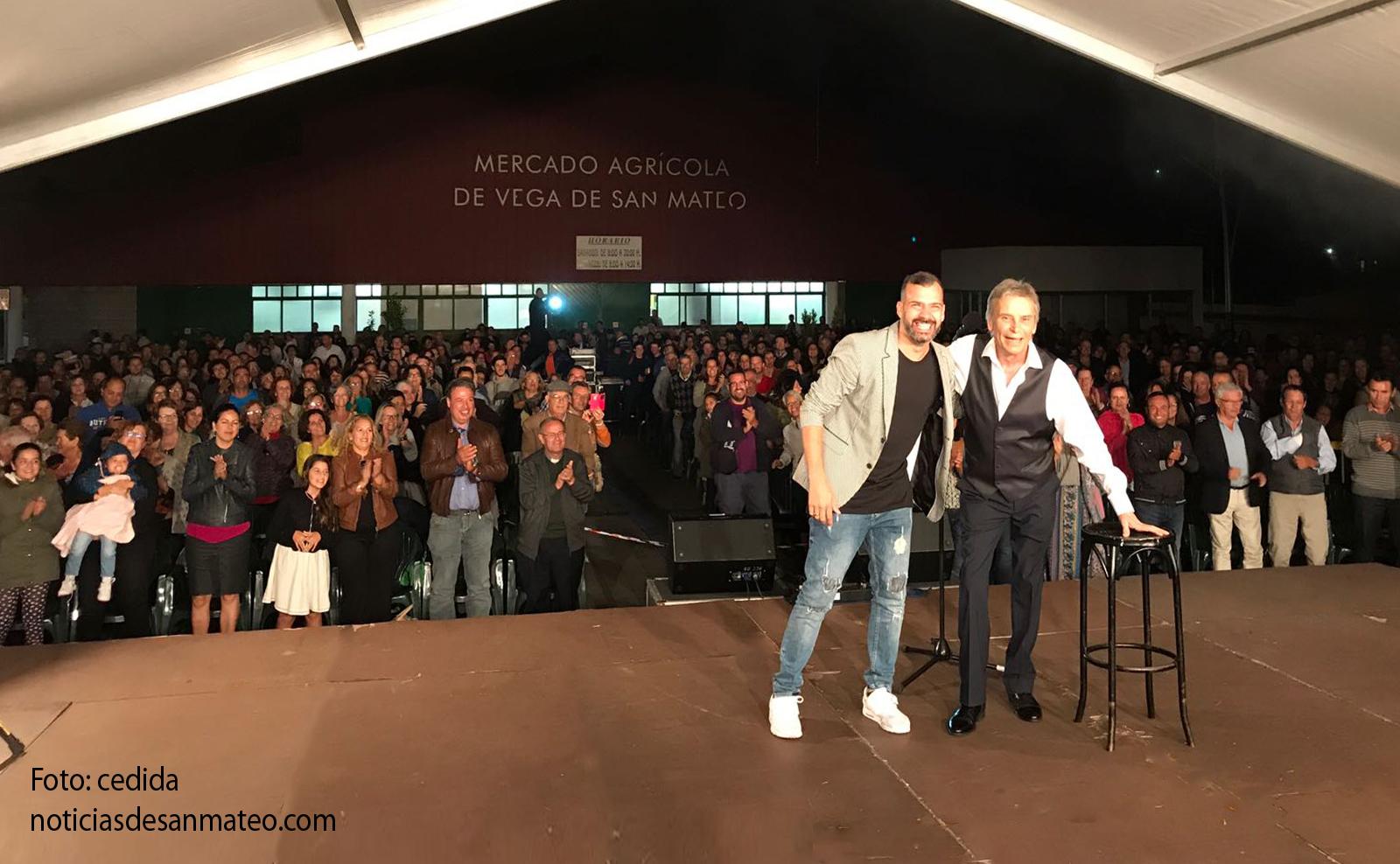 Manolo Vieira y Dani Calero en San Mateo