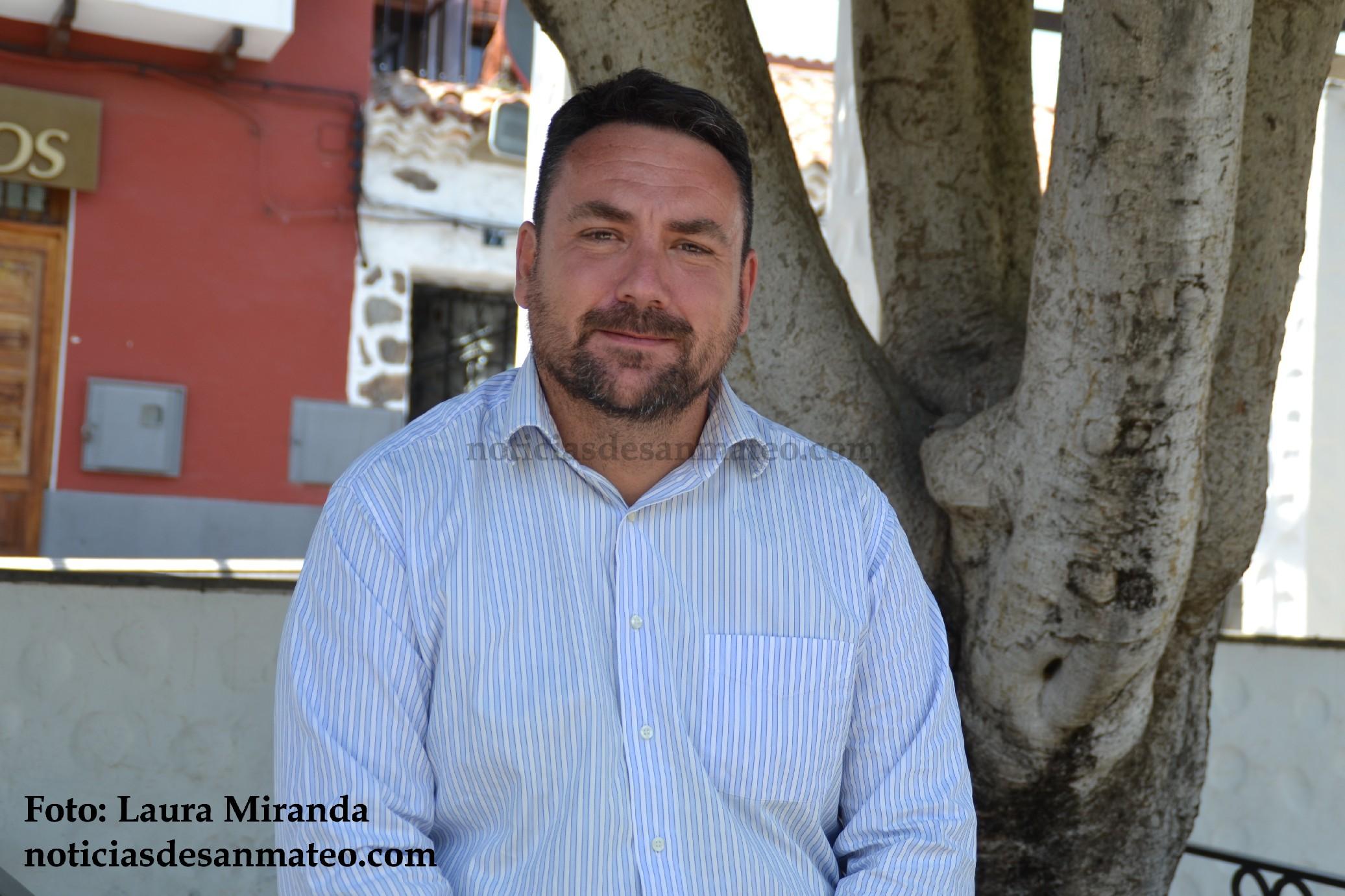 Manuel Vega Director tecnico seguridad Noticias de San Mateo Laura Miranda