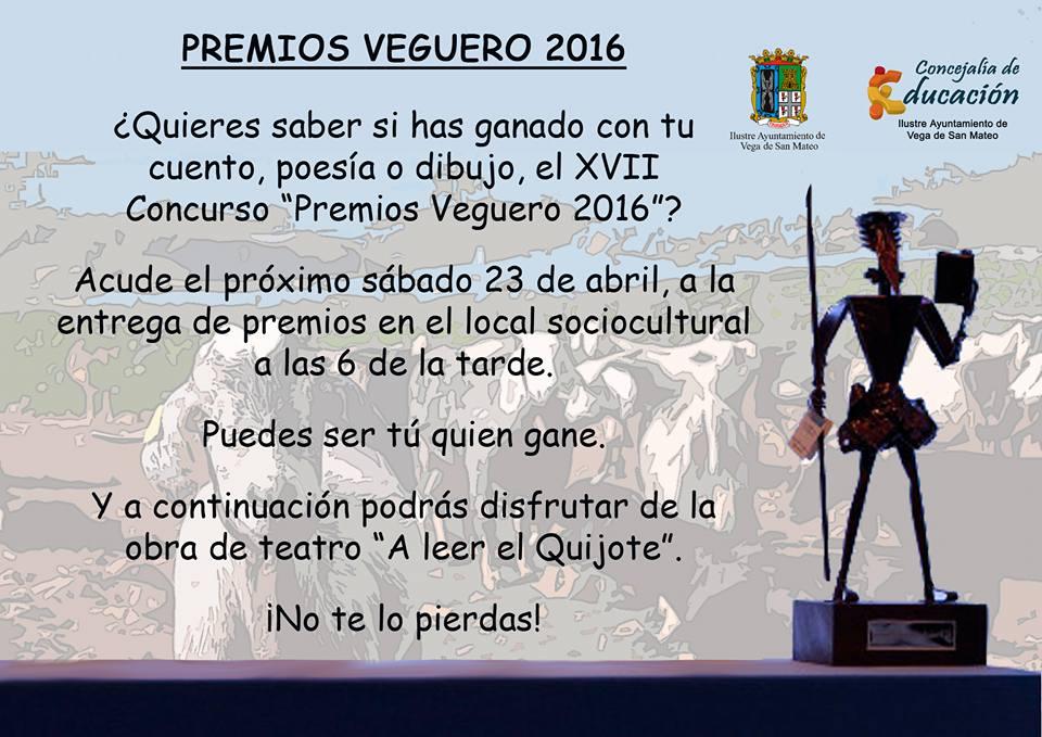 Premios Veguero 2016