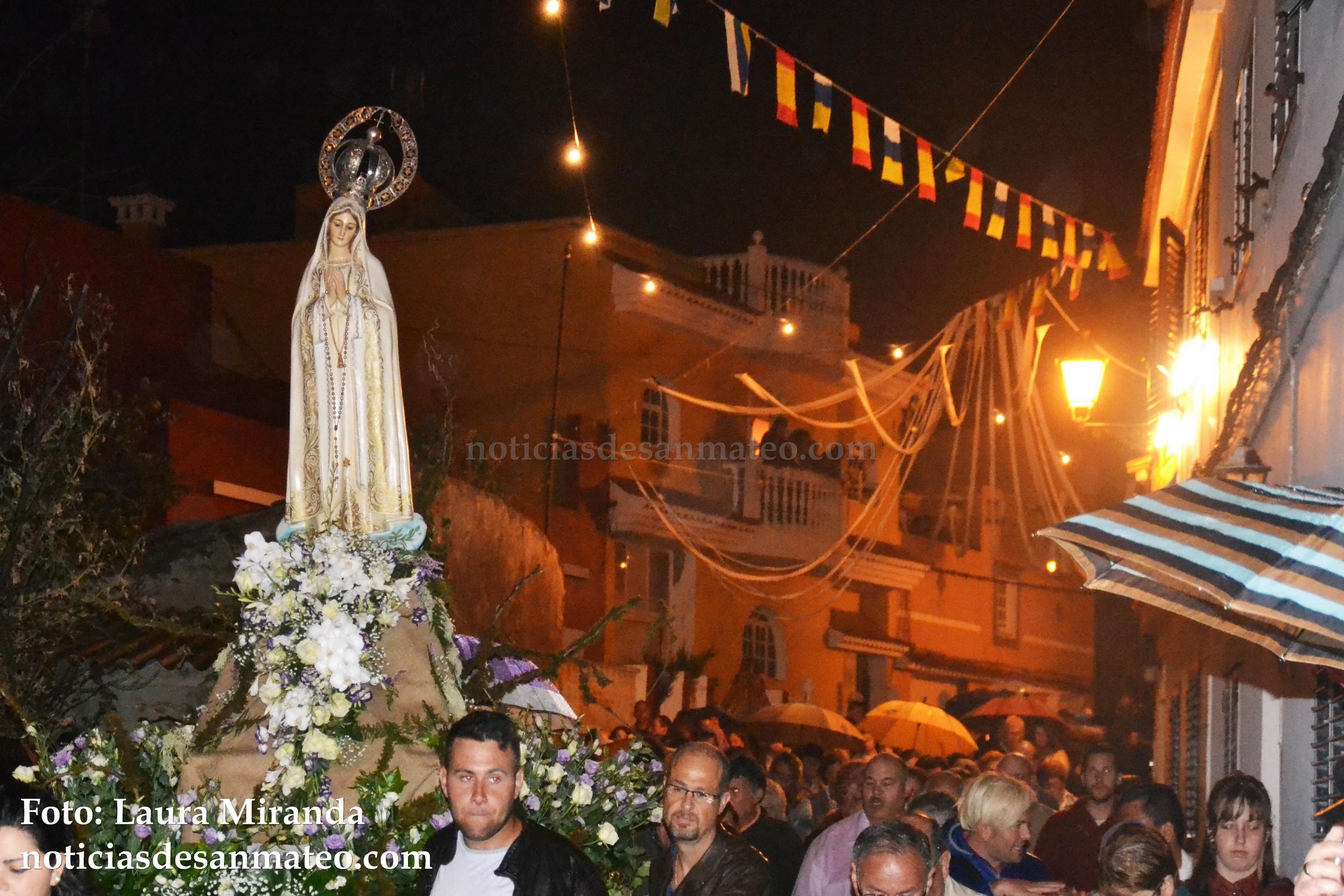 Procesion Virgen de Fatima Domingo 8 de mayo de 2016 Foto Laura Miranda Noticias de San Mateo