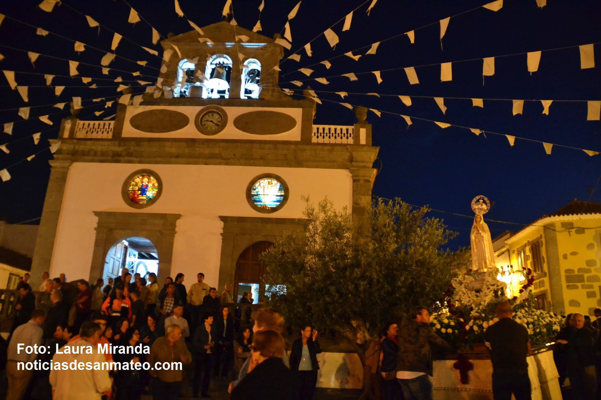 Procesion Virgen de Fatima San Mateo 8 de mayo de 2017