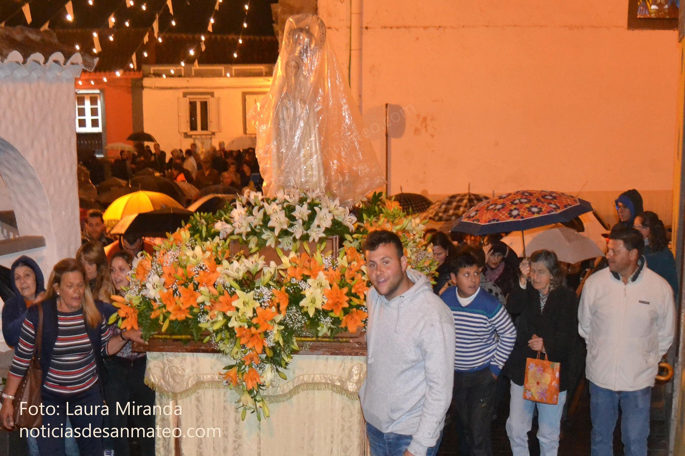 Procesion Virgen de Fatima miercoles 11 mayo