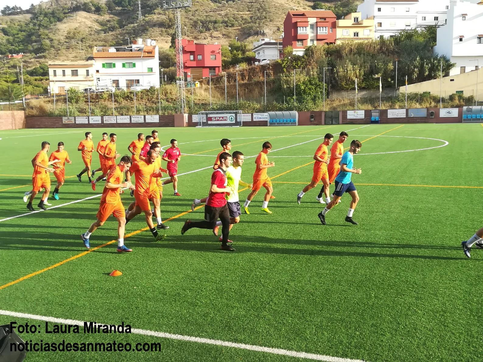 Pulido entrenamiento pretemporada Foto Laura Miranda Noticias de San Mateo
