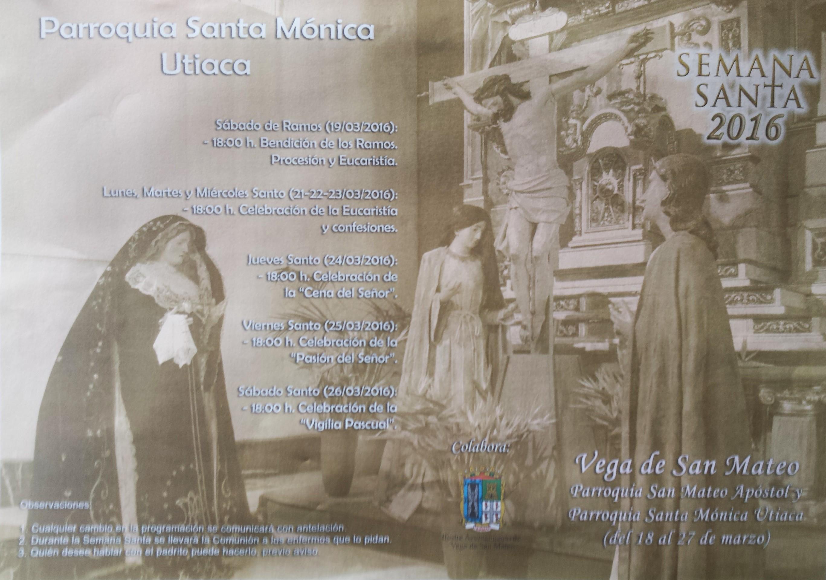Semana Santa en San Mateo y Utiaca 2016 2