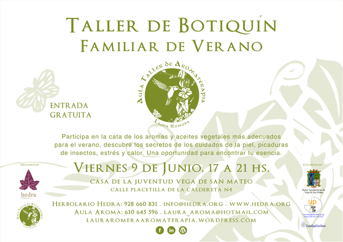 Taller de botiquin familiar
