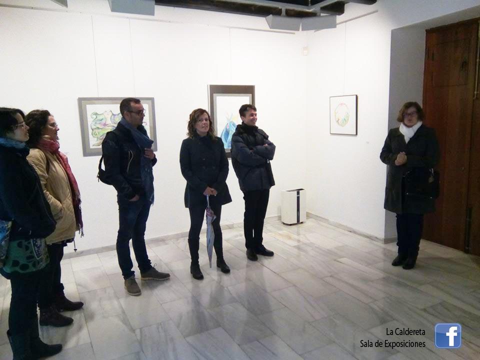 caldereta sala de exposiciones inauguracion fondos municipales 19 de enero 2019