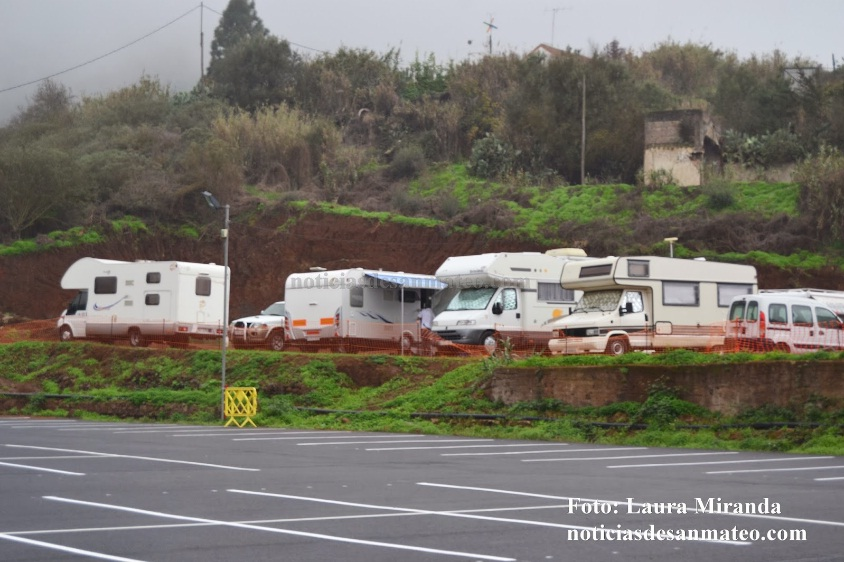 caravanas acampadas en hoya viciosa San Mateo Foto Laura Miranda Noticias de San Mateo