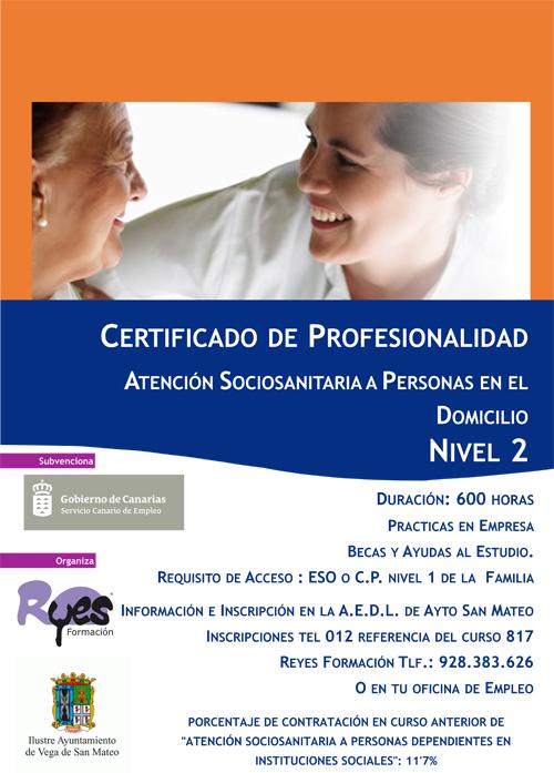 cartel curso profesionalidad san mateo