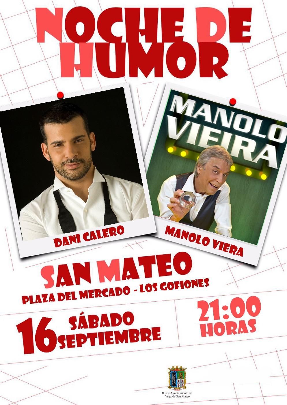 cartel noche de humor