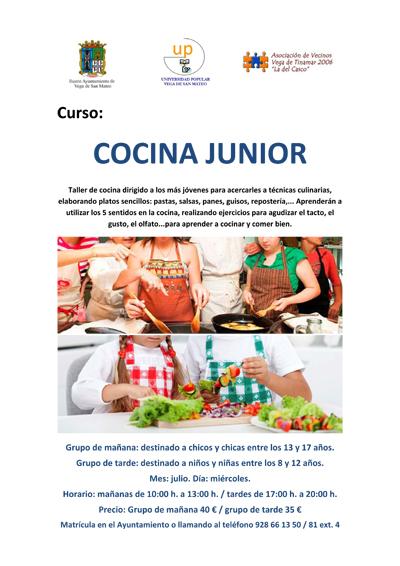 cocina junior julio up san mateo