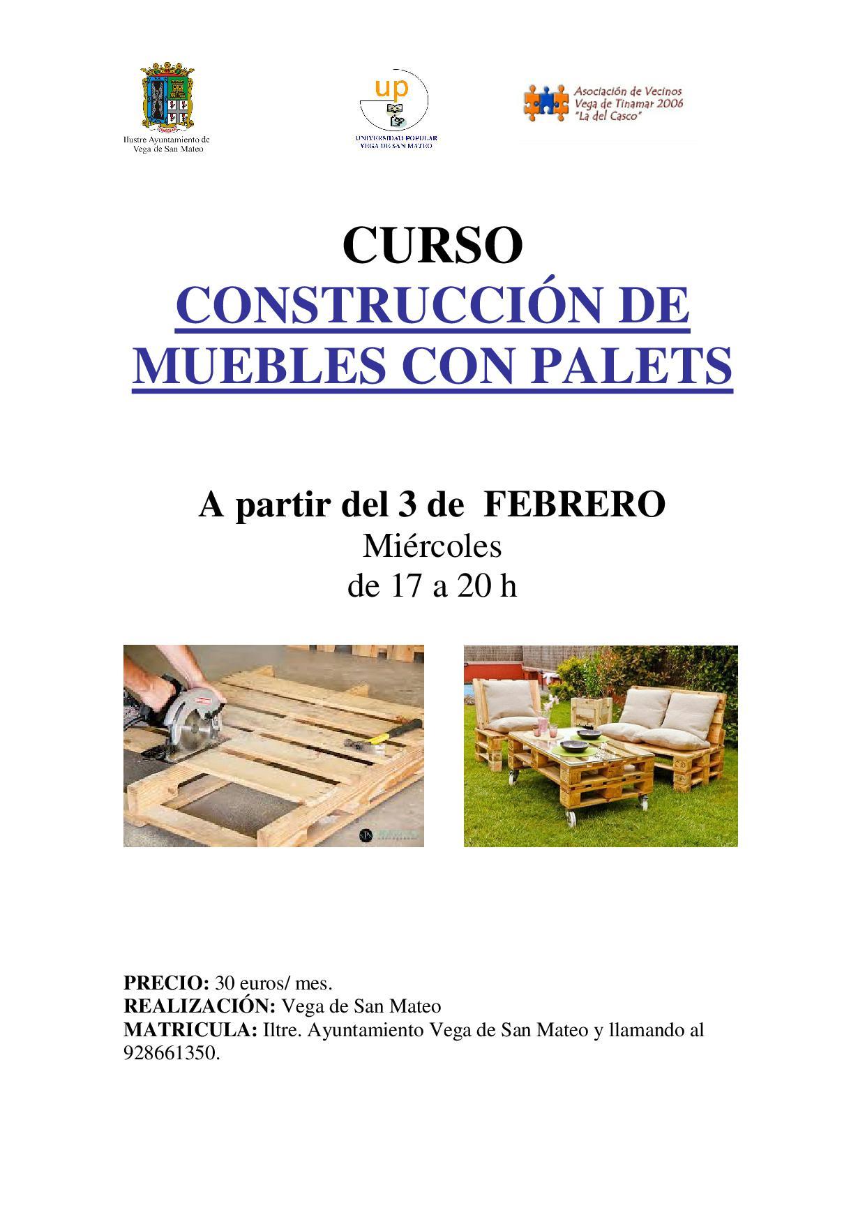 curso constru de muebles con palets