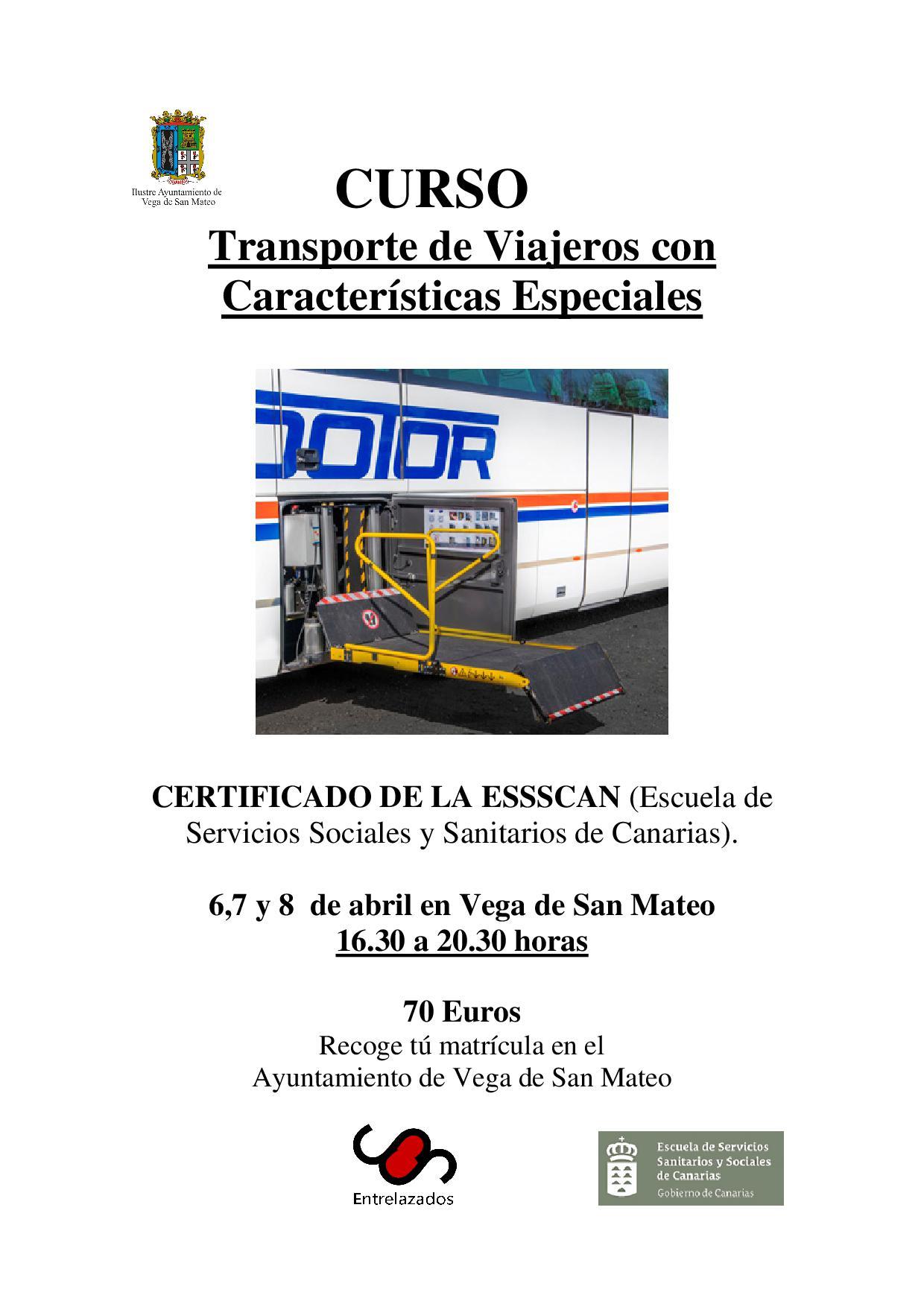 curso transporte viajeros
