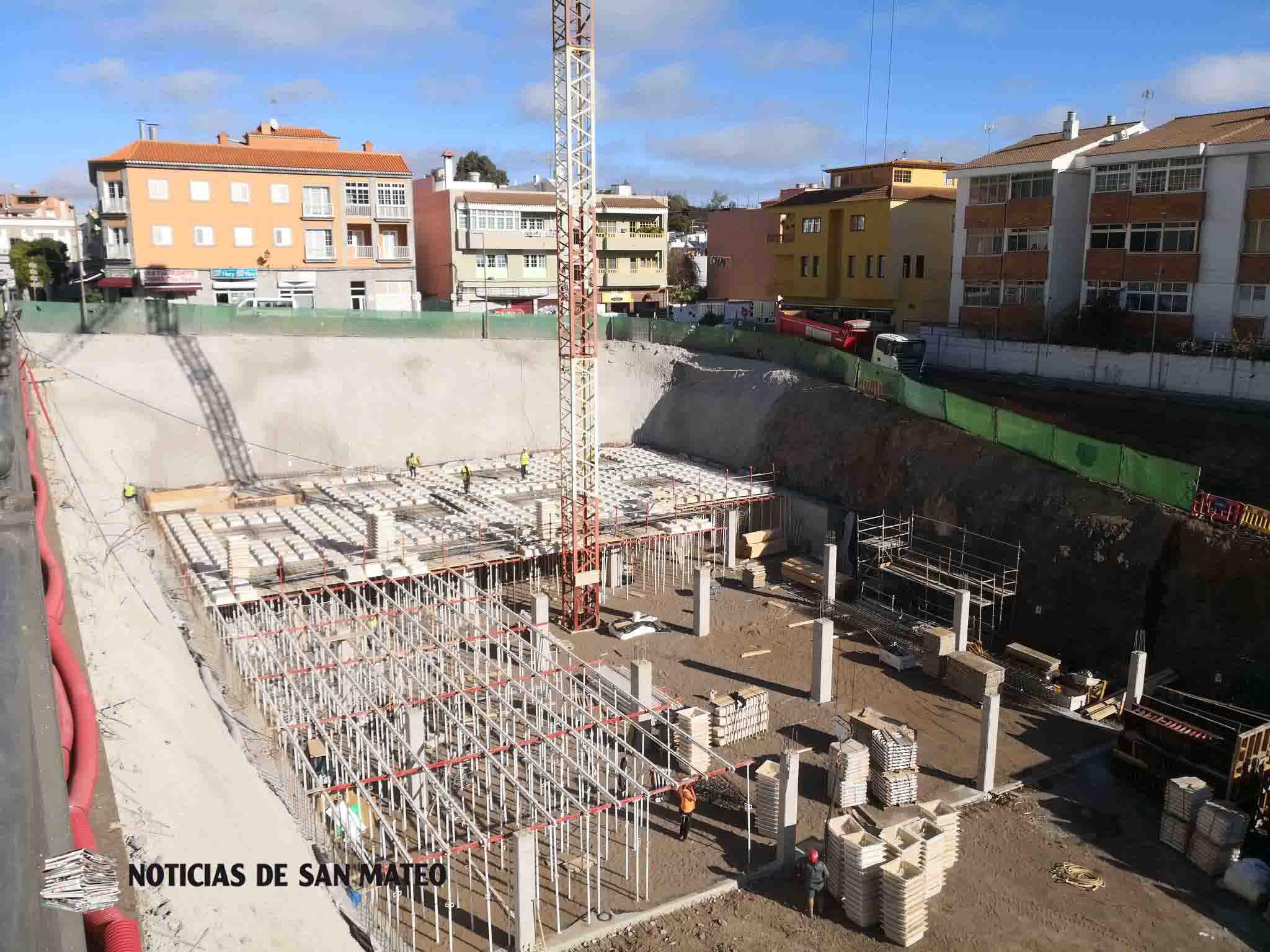obra plaza del pueblo enero foto noticias de san mateo