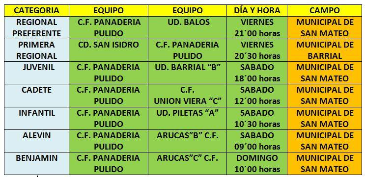 partidos jornada 15 enero 2016 pulido